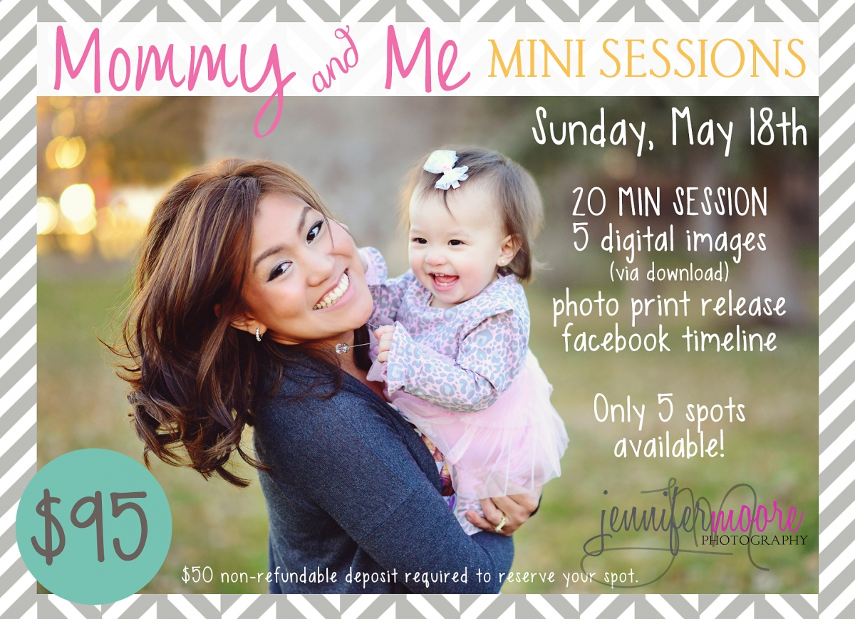 mommy and me mini sessions jennifer moore photography. Black Bedroom Furniture Sets. Home Design Ideas